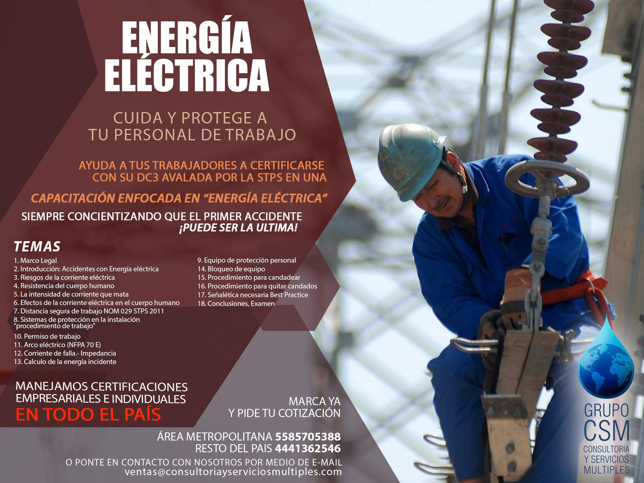 Curso Energía Eléctrica
